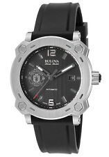 Bulova Accu-Swiss 63B199 Percheron Manchester United Swiss Made Automatic Watch