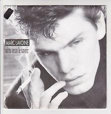 """MARC LAVOINE Vinyle 45T 7"""" SI TU VEUX LE SAVOIR - FABRIQUE - AVREP 870600"""