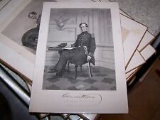 Eminent Americans Engraving Military Charles Wilkes- Alonzo Chappel 1862