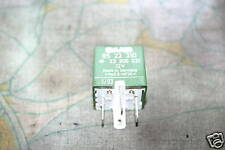 Classic Saab 900 Convertible Later Green Fog Starter Horn Cooling Fan Relay