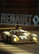 Renault 1979 UK Market Corporate Sales Brochure Factories Motor Sport History