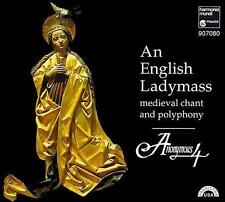 Anonymous 4 An English Ladymass CD NEW SEALED MEDIEVAL CHANT & POLOPHONY HARMONI