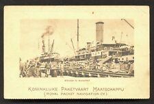 Makassar Harbour KPM Ships Celebes Indonesia 1910