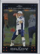 2007 Topps Chrome NFL Tom Brady Black Parallel New England Patriots QB!