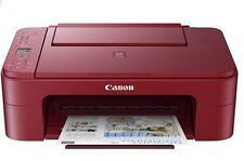 Canon Pixma TS3320 Inkjet All-In-One Printer - Red - (Ink Not Included)