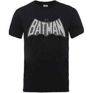 Batman DC Originals Batman Retro Logo Official Merchandise T-Shirt M/L/XL Neu