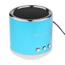 Portable Mini USB FM Radio Speaker Music Player for SD/TF Card Blue