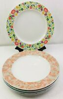 """Schonwald Germany Dinner Plates 9390 12 1/4"""" Set Of 5 Various Patterns"""