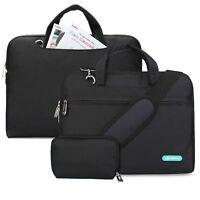 Slim Laptop Shoulder Bag Sleeve, 360° Protective Laptop Handbag for 13-16 Laptop