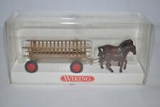 Wiking 893 02 Haywagen with Horses for Marklin NEW w/BOX
