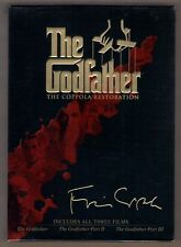 THE GODFATHER 1-2-3 THE COPPOLA RESTORATION new dvd 4 DISC BOX SET