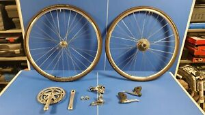 Campagnolo Veloce 10 Speed Groupset plus wheels Mavic Continental