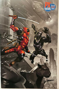 Black Panther vs. Deadpool (2018) #1 NYCC PX Variant VERY HIGH GRADE