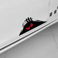 Red Eyes Monster Peeper Scary Decorative Car Bumper Window Vinyl Decal Sticker