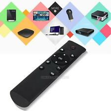Wholesale Black 12Key Wireless Remote Control Air Mouse 2.4G For Android KODI TV