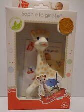 Sophie La Girafe Giraffe aus NATURKAUTSCHUK Geschenk ab 0 +  Beissfigur NEU