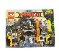 LEGO Ninjago Movie 70631 Garmadon's Volcano Lair - Instruction Manual Only