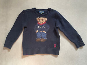 Boys Ralph Lauren Teddy Bear Junoer Age 3