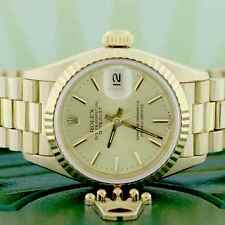 Rolex President Datejust Ladies Gold 26MM Watch, Ref 69178, Box&Papers