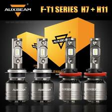 AUXBEAM LED Headlight H7+H11/H9 High Low Beam Canbus Bulbs Temperature Control