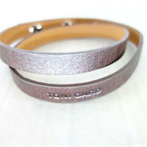 Toni Gard Damen Modeschmuck Schmuck Armband Leder Braun Verstellbar Np 79 Neu