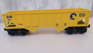 K-LINE 5311 O Scale CHESSIE SYSTEM HOPPER CAR