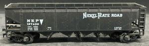 RoCo: Nickel Plate Road NKP 127430 BLACK HOPPER.  HO SCALE H0, AUSTRIA VINTAGE