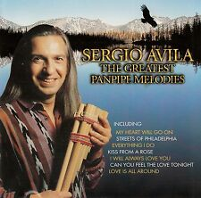 SERGIO AVILA : THE GREATEST PANPIPE MELODIES / CD (MERCURY RECORDS 559 615-2)