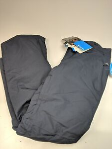 New Columbia Womens Veloca Vixen Omni Heat Insulated Ski Pants Blue Sz L   15307