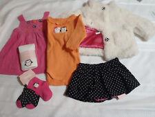 Gymboree Polka Dot Penguin 3-6 Month Dress Bodysuit Tights Socks Coat Outfit NWT