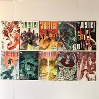 Justice 1-5 8 10-12 NM Lot DC Comics Alex Ross Krueger 2005 Justice League JLA