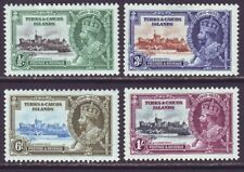 Turks & Caicos Islands 1935 SC 71-74 MH Set Silver Jubilee