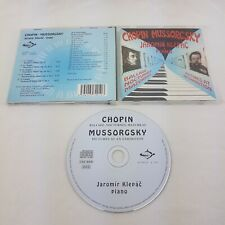 Chopin Mussorgsky Jaromir Klepac Piano Pictures At An Exhibition