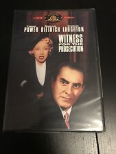 Witness for the Prosecution (Dvd, 2001) New & Sealed