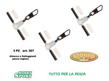STONFO 307 MISURA GRANDE ATTACCO FISSO per GALLEGGIANTI  INGLESI conf 3 pz