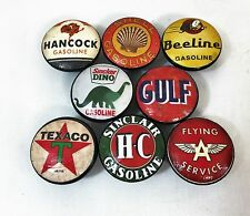Set of 8 Oil and Gas Label Cabinet Knobs Drawer Knobs
