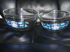 Pillsbury DOUGHBOY GLASS UTILITY BOWLS - Set of 2 NEW