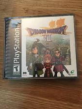 Dragon Quest VII Sony PlayStation 1 Ps1 Pax Black Label Complete Nice Works MT1