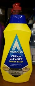 Astonish Cream Cleaner Lemon Fresh - 500ml