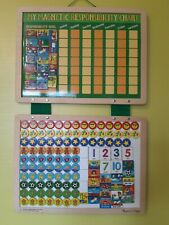 My Magnetic Responsibility Chart Board by Melissa & Doug Wooden