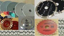 5 Diamond Granite Polishing Pad Grinder Wheel Stone Concrete Wood Cutter Blade