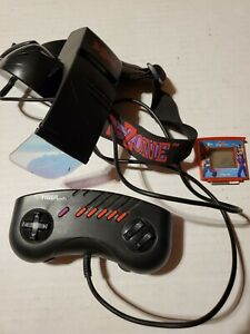 R-Zone Tiger Electronics Virtua Fighter Tested Not Working Eroded Battery As Is