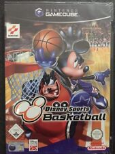 Nintendo GameCube Cube WII Disney Sports Basketball  NUOVO FACTORY SEALED  >ITA<