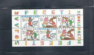 NETHERLANDS - Souvenir Sheet - Child Welfare 1998 - Scott B710a