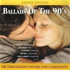 Ballads of the 90's (Sony) Scorpions, Ten Sharp, Joshua Kadison, Daryl Ha.. [CD]