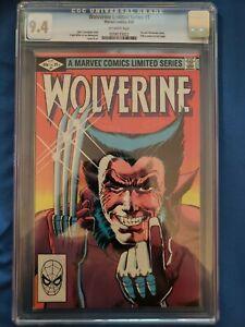 Wolverine #1 (Sep 1982, Marvel) CGC 9.4. 1st Solo Series!