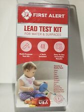 First Alert Lead Test Kit For Water & Surfaces Immediate Results 4 Tests