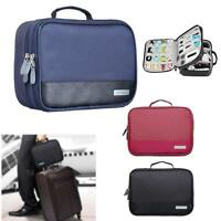 Universal Cable Organizer Electronics Accessories Case USB Phone Travel Bag #K