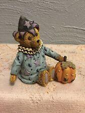 Joan 1st Edition Halloween Teddy Bear Figurine Teddys Toys by Nita Shower 1997