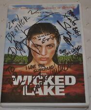 WICKED LAKE DVD SIGNED BY MANY CAST MEMBERS CARLEE BAKER ERYN JOSLYM ETC HORROR